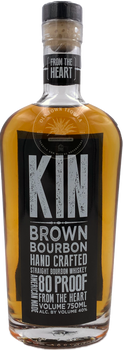 KIN Brown Straight Bourbon Whiskey 750ml
