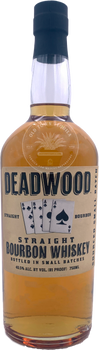 Deadwood Straight Bourbon Whiskey 750ml