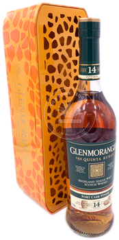 Glenmorangie The Quinta Ruban Aged 14 Years Highland Single Malt Scotch Whiskey 750ml