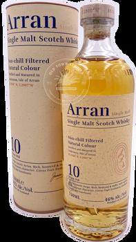 Arran Single Malt Scotch Whisky 10 yrs 750ml