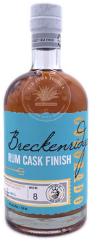 Breckenridge Rum Cask Finish Blended Straight Bourbon Whiskey NO.8 750ml