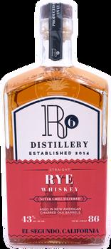R6 Straight Rye Whiskey 750ml