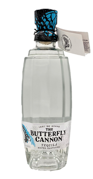 The Butterfly Cannon Silver Cristalino Tequila 750ml