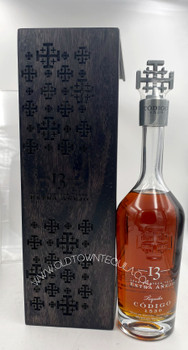 Codigo 13 Years aged Limited Edition Crystal Bottle Extra Anejo Tequila