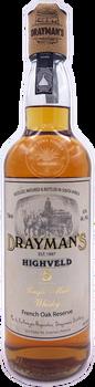 Drayman's Highveld 5yr. Single Malt Whisky 750ml