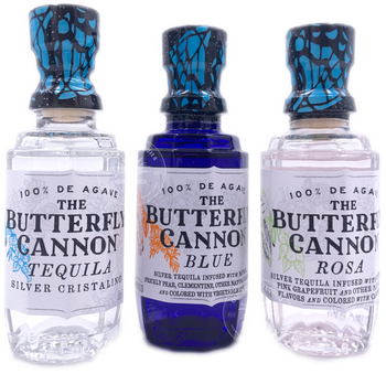 The Butterfly Cannon Tequila Combo 3X50ml