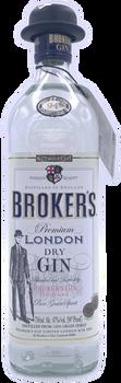 Broker's London Dry Gin 750ml
