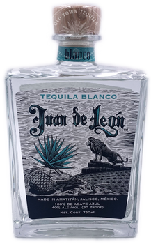 Juan de Leon Blanco Tequila 750ml