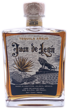 Juan de Leon Anejo Tequila 750ml