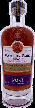 Worthy Park Special Cask Series Jamaica Rum- PORT 10 years 750ml