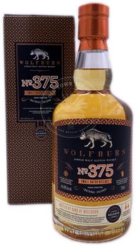 Wolfburn Single Malt Scotch Whisky NO.375 Small Batch Release  750ml
