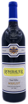 Rombauer 2018 Merlot Wine 750m