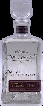 Don Ramon Platinium Reposado Cristalino Tequila 750ml