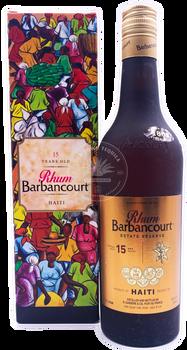 Barbancourt Rhum Estate Reserve 15yr Haiti Rum 750ml
