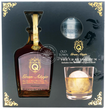 Don Q Gran Anejo Rum Gift Set