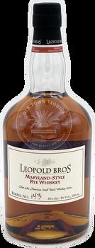 Leopold Bros Maryland Style Rye Whiskey 750ml