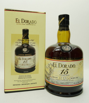 El Dorado Special Reverve Rum 15 Years