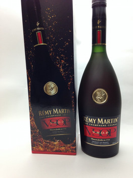 Remy Martin VSOP  Fine Champagne Cognac 40% Alcohol. 750 mL VSOP Very Special Old Pale (minimum age 5-10 years). Product of France.