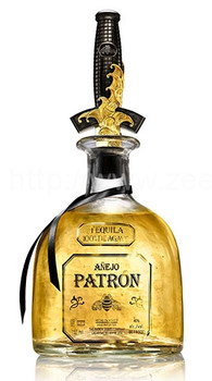 Patron David Yurman limited edition Anejo tequila