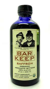Bar Keep Organic Aromatic Bitters Saffron