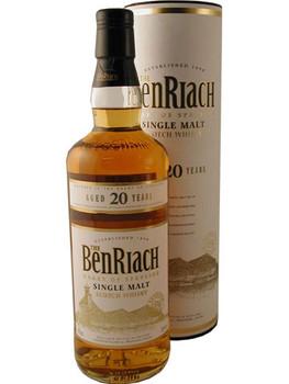 Benriach 20 yr 750ml