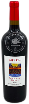 Paoloni Sangiovese Grosso 2017 Valle de Guadalupe