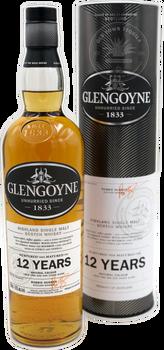 Glengoyne Highland Single Malt Scotch Whisky 12 yr Cask 750ml