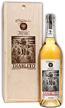 123 Organic Extra Anejo Tequila Diablito
