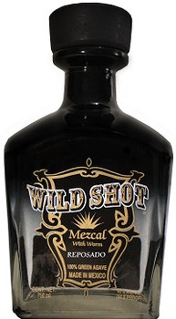 Wild Shot Reposado Mezcal With Worm
