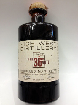 High West Distillery The 36th Vote Barreled Manhattan