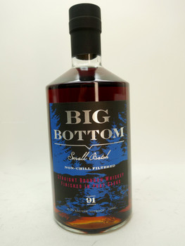 Big Bottom Whiskey Straight Bourbon Port Cask whiskey