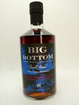 Big Bottom Whiskey Straight Bourbon Port Cask whiskey