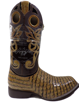 Dos Artes Anejo Tequila Mens Boot Shape