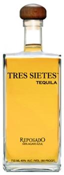 Tres Sietes Reposado tequila