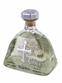 Cruz Siver Del sol tequila