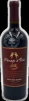 Menage a Trois Silk 2016 California Soft Red Blend
