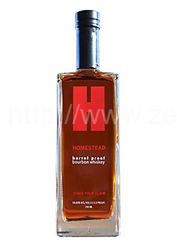 Homestead Barrel Proof Bourbon Whiskey