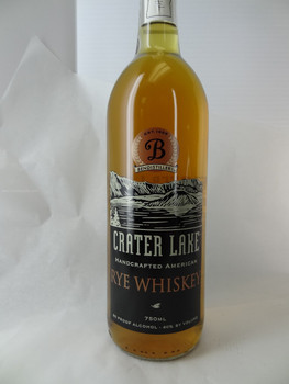 Crater Lake Rye Whiskey