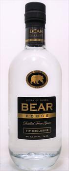 Bear Force VIP Exclusive Vodka