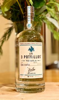 Los 3 Potrillos Blanco Tequila De Vicente Fernández