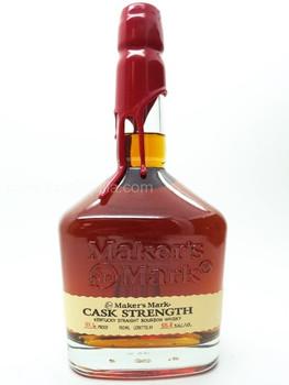 Maker's Mark Cask Strength Bourbon 750 ML