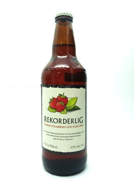 REKORDERLIG Hard Cider (Strawberry-Lime)