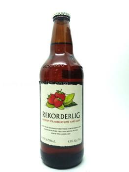 REKORDERLIG Hard Cider (Strawberry-Lime)