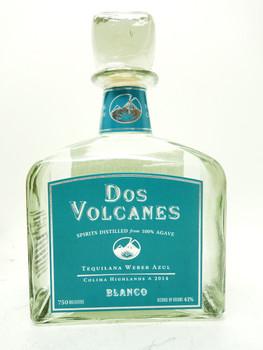 Dos Volcanes Blanco Agave spirits
