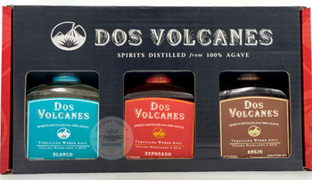 Dos Volcanes Agave Spirits 375ML Combo
