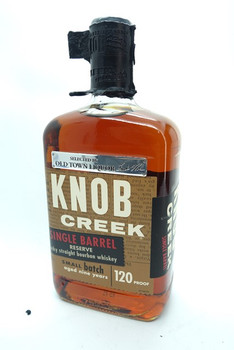 KNOB CREEK  SPECIAL OLD TOWN SINGLE BARREL BOURBON