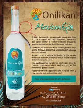 ONILIKAN MEXICAN GIN