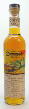 ESCORPION BARRIL VARIETAL ANEJO MEZCAL 375ML