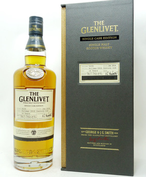 THE GLENLIVET SINGLE CASK EDITION SCOTCH WHISKY 14 YEARS PULLMAN 20TH CENTURY