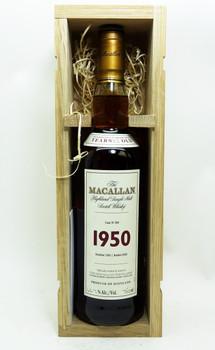 THE MACALLAN 1950 SINGLE MALT SCOTCH WHISKY